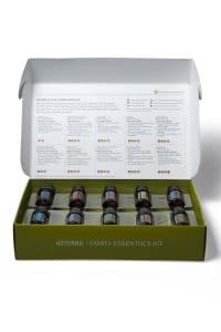 school essential oils family essential kit Odeur