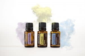 doTERRA Lavender, Lemon and Peppermint Oils - Odeur