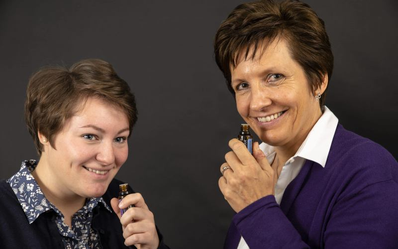 Odeur Team Kathrin Kraenkl and Clara Langthaler